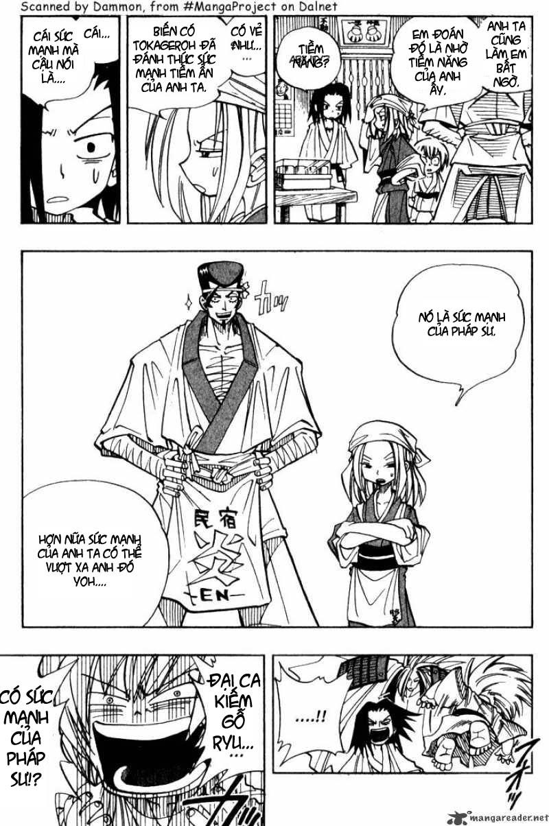 Shaman King [Vua pháp thuật] chap 25 trang 5