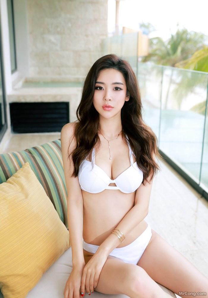 Image Park-Da-Hyun-MrCong.com-012 in post Bộ ảnh thời trang biển rực cháy quyến rũ của người đẹp Park Da Hyun (320 ảnh)