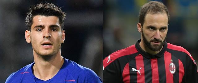 Transfer Pertukaran Alvaro Morata dan Gonzalo Higuain