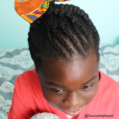 Big and Small Criss Cross Cornrows For Kids | African Naturalistas