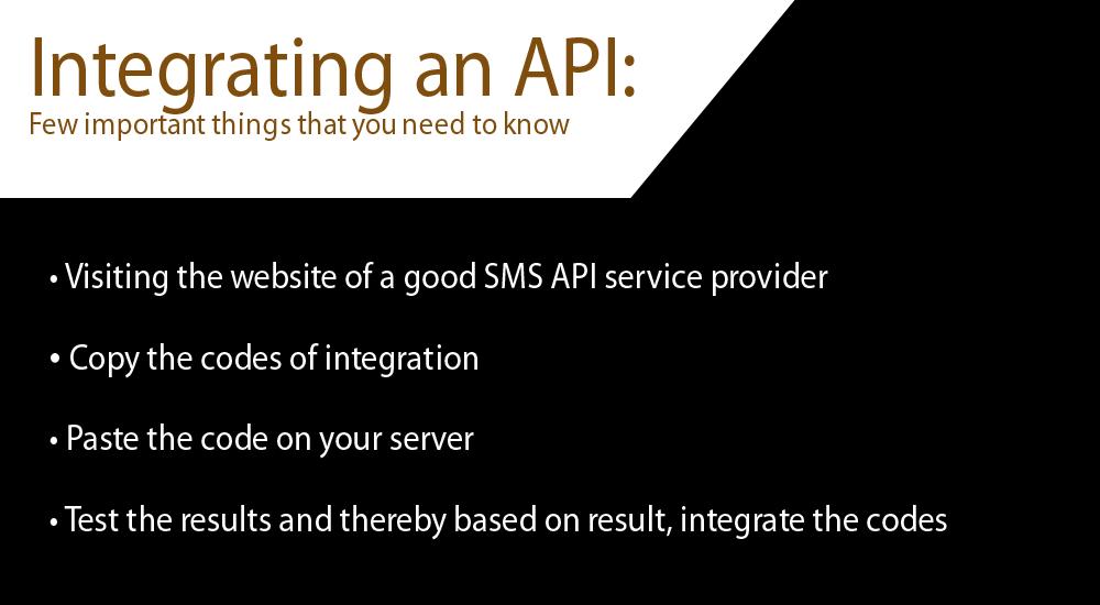 API and sms gateway service provider