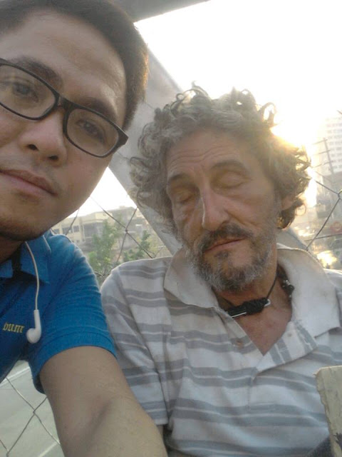 This Italian National Had to Beg For Money In The Streets After His Pinay Wife Abandoned Him! He Doesn't Even Remember His Name!