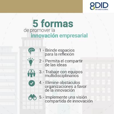 formas de promover la innovacion empresarial