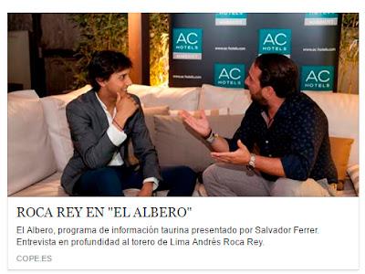 entrevista roca rey albero cope