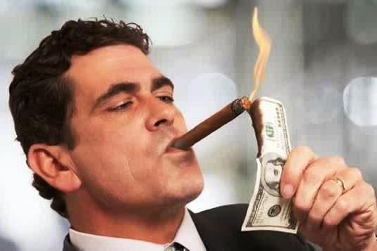 """""""Orang Kaya Bakar Uang Dollar"""""""