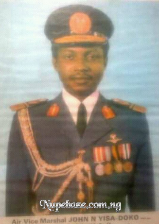 Biography Of Air Vice Marshal John Nmadu Yisa Doko , Nupe Air Force In Nigeria , Nupe High Government Position , Nupe High Mililary Rank Position , Nupe Military , Nupe Soldier , Nupe Soja , Nupe Christain