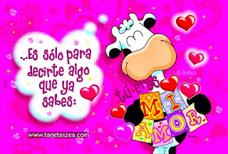 Tarjetas Zea de Amor con Frases Lindas
