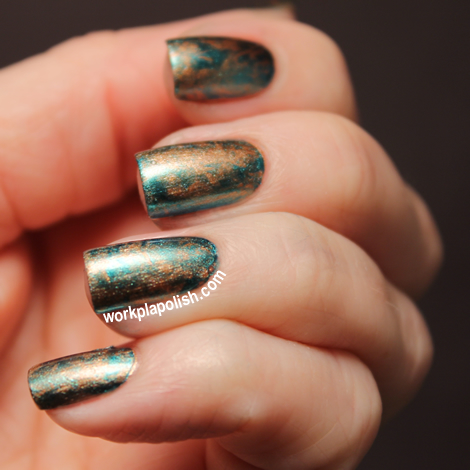 China Glaze Saran Wrap Nails