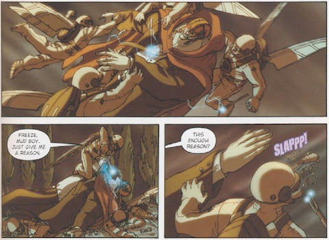 Sample Page 4 of Artemis Fowl: The Graphic Novel