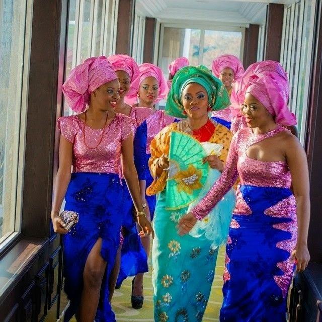 Wedding Hairstyles In Nigeria: Order Fabrics For Aso Ebi