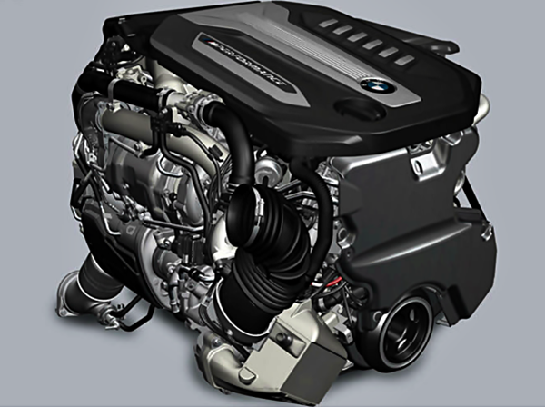 BMW Quadturbo Diesel Engine
