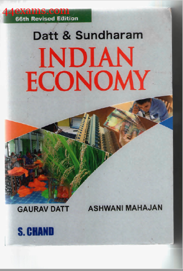 Indian Economy by S. Chand : For All Competitive Exam PDF Book
