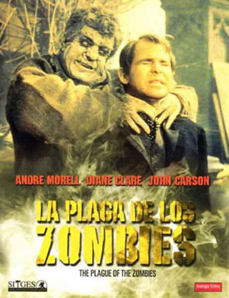 La Plaga de los Zombies de John Gilling, Carátula DVD Manga Video