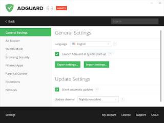 Adguard 6.4.1814.4903 - Phần mềm chặn quảng cáo hàng đầu