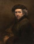 Rembrandt van Rijn: Selbstporträt. 1659