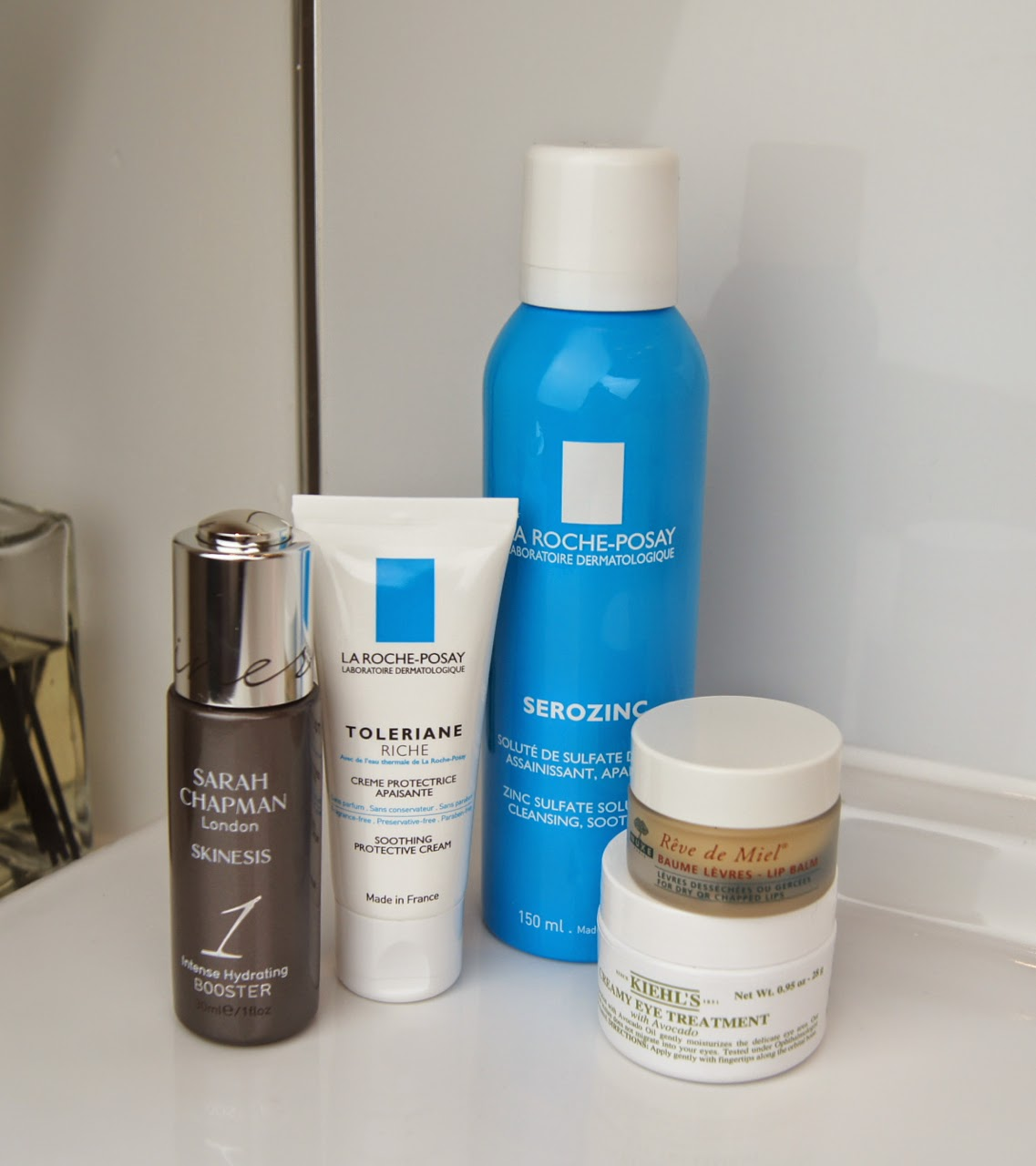 best skincare products 2014 toner serum moisturiser eye cream lip balm