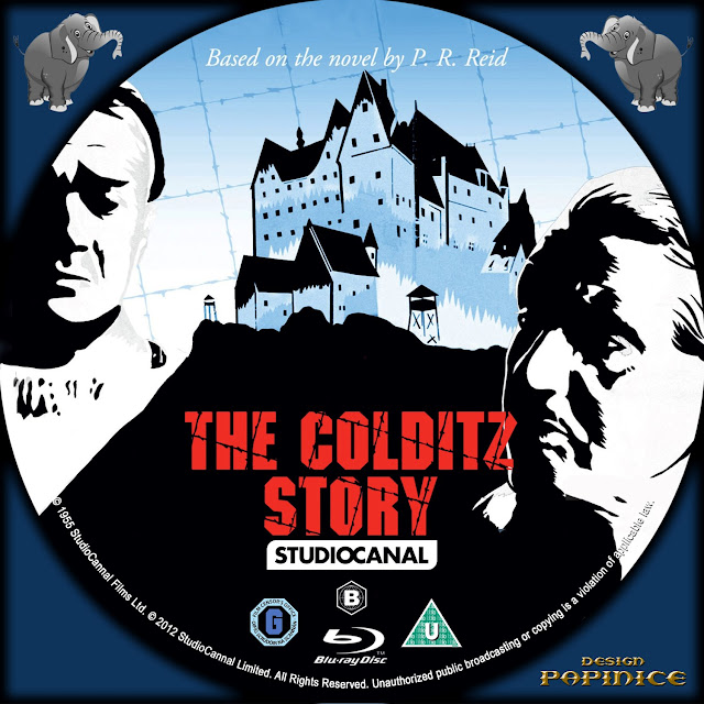 The Colditz Story Bluray Label