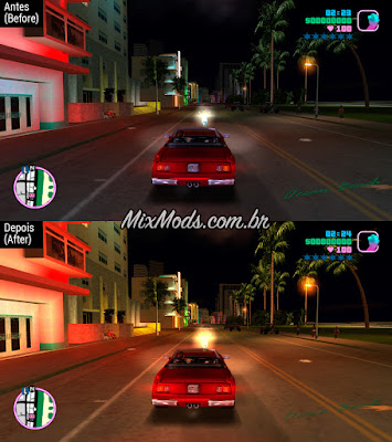 gta vice city graphic mod trails skygfx ps2 pc