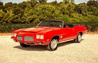 1971 Pontiac LeMans Sport Convertible Front Right