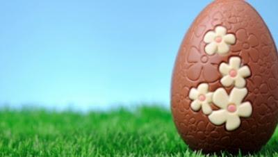 Ovos de chocolate sem embalagem