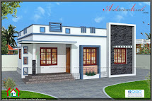 760 Square Feet 3 Bedroom House Plan - Architecture Kerala