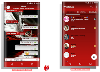 Angel Theme FOr YOWhatsApp & Fouad WhatsApp By DMota
