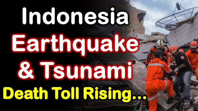 Earth Logs, Earthquake, Tsunami, Indonesia, Toll, Effects, Earth Changes, Ring of Fire, Fault Lines, Ocean, Wave, Sulawesi, communications lines, magnitude, Palu City, Jakarta, Sigi, Balaroa