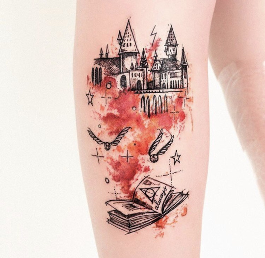 Creative Watercolor Tattoos