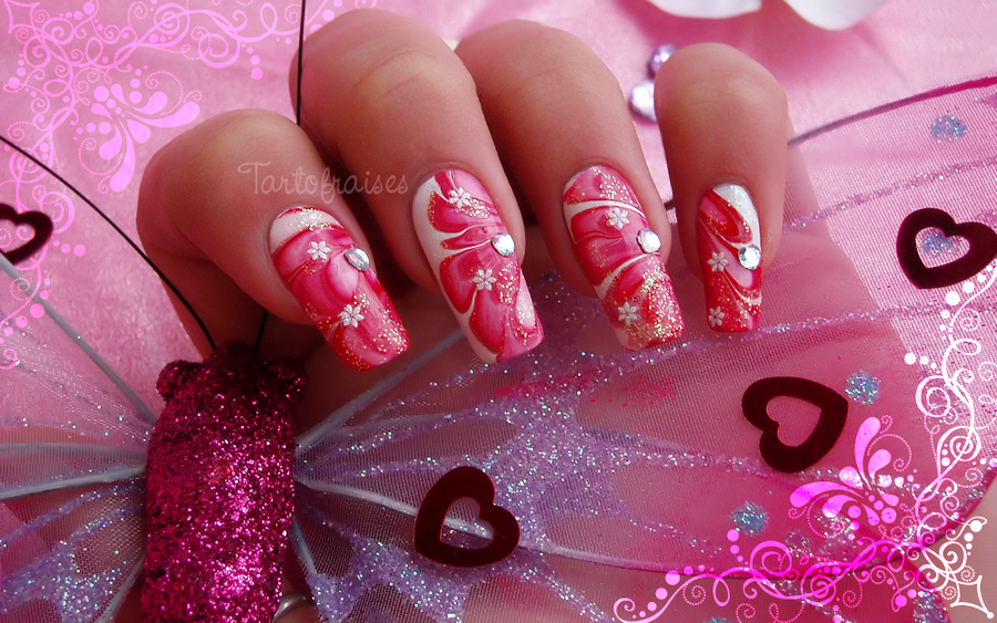 Valentines Nail Designs 2015