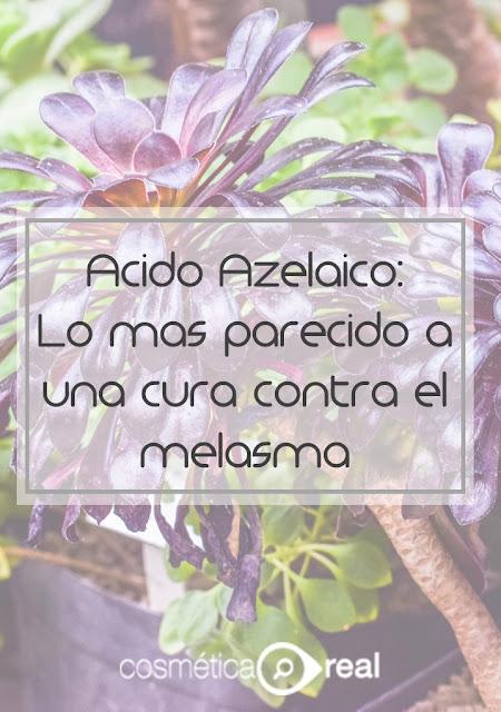 Ácido azelaico: Lo más parecido a una cura contra el melasma
