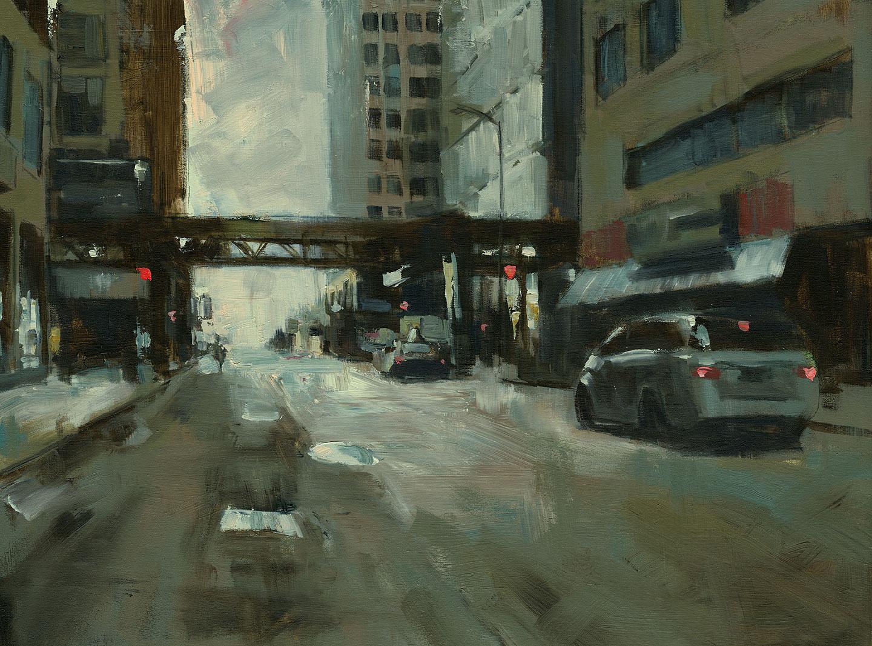DARREN THOMPSON FINE ART: Early Sunday Morning #3