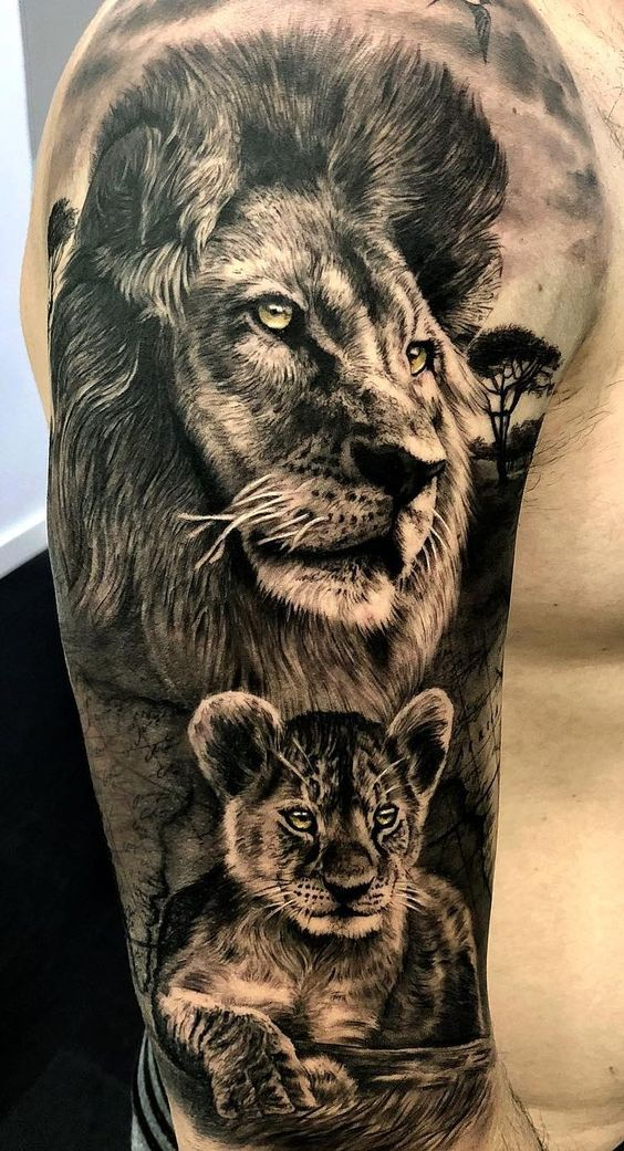 32 best of lion tattoos ideas for men