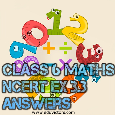 CBSE Class 6 Maths - Playing With Numbers - NCERT Exercise 3.3 (#cbsenotes)