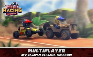 Download Mini Racing Adventures Apk Mod (Money,Cheat,Hack) Update Terbaru