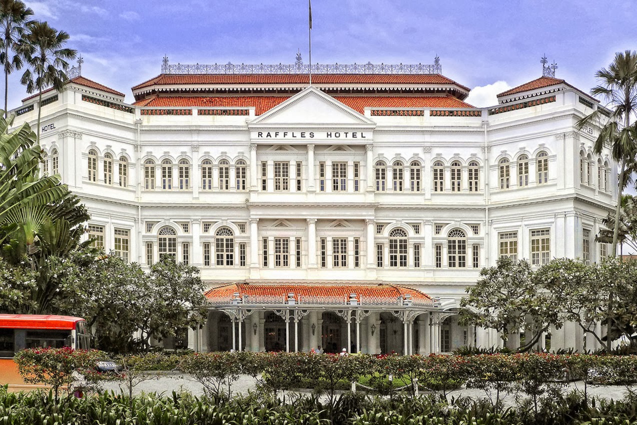 Victorian Houses World Visits Raffles Hotel In Singapore Mostly Atrictive