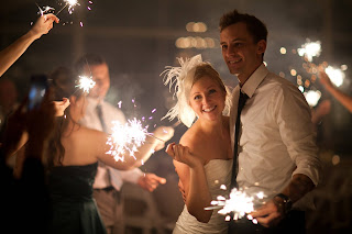 Sparklers For Your Wedding Indoors