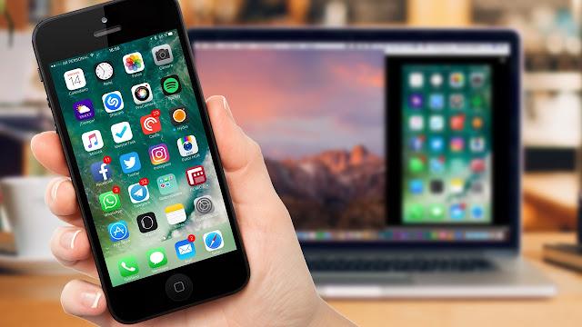 Como-duplicar-la-pantalla-de-tu-iPhone-en-un-Mac How to duplicate the screen of your iPhone on your Mac or PC Apps