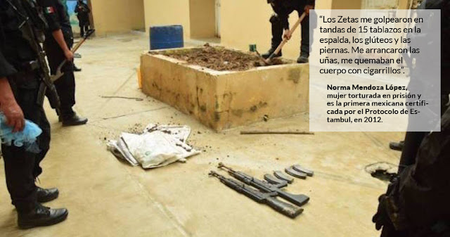 "Zetas usan prisión como cámara de tortura: ""Me arrancaron las uñas, me quemaban"""