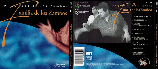 """lUIS EL ZAMBO, JOAQUÍN EL ZAMBO, ENRIQUE EL ZAMBO, ABRAHAN, MORAITO. FAMILIA DE LOS ZAMBO """"AL COMPÁS DE LOS ZAMBO"""""""