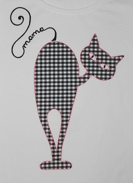 camiseta-familia-gato-personalizada