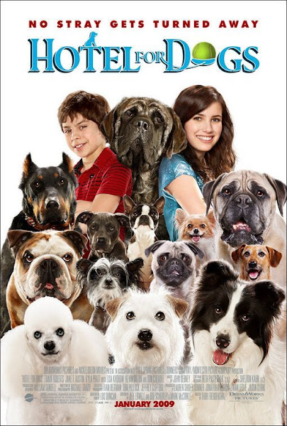 Poster of Hotel for Dogs (2009) Dual Audio [Hindi-English] 720p BluRay ESubs Download