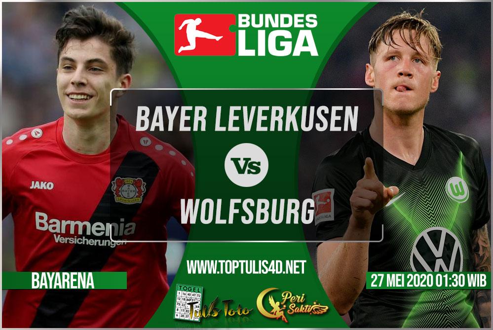 Prediksi Bayer Leverkusen vs Wolfsburg 27 Mei 2020