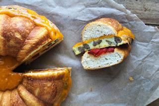 Egg, Sausage, and Cheese Bundt Breakfast Sandwich
