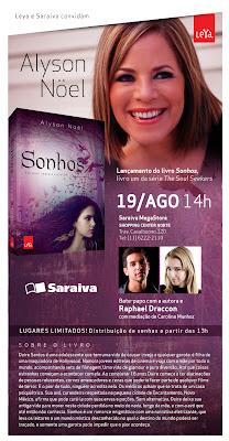Eventos: Alyson Noel no Brasil. 18