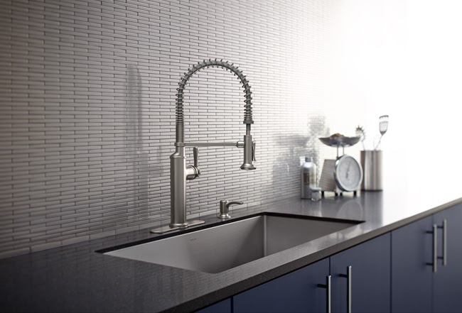 industrial design kitchen faucet