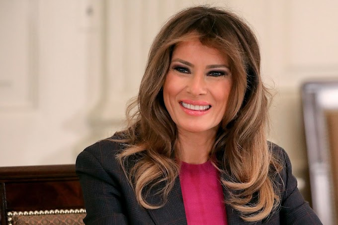 'I don't always agree with my husband's tweets' - U.S First Lady, Melania Trump, opens up