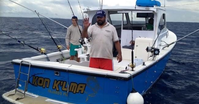 Puerto rico deep sea fishing charter kon k lma fishing for Puerto rico fishing charters