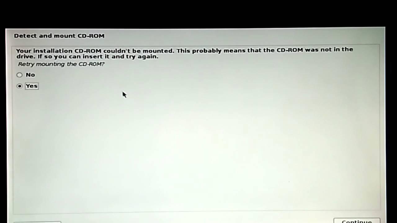 Cara Mengatasi CDROM Can't Mount Saat Install Kali Linux