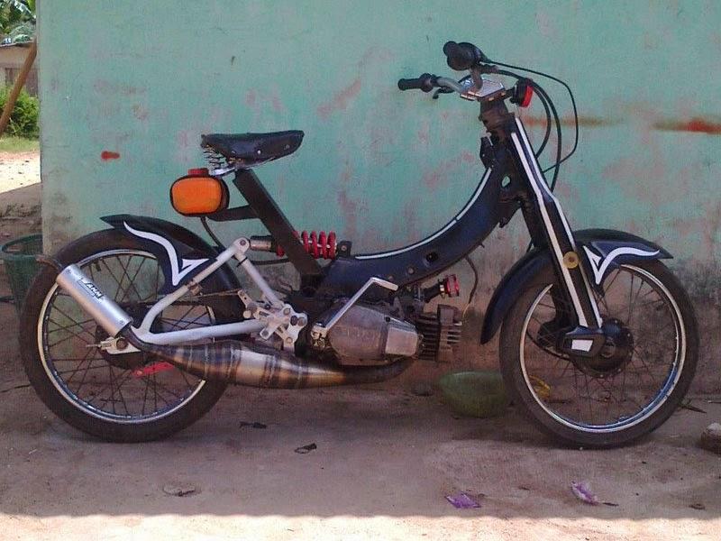 modifikasi motor yamaha v80  tahun ini