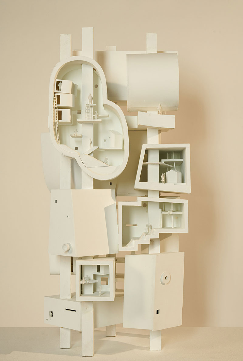 Surreal Architectural Models by Bureau Spectacular